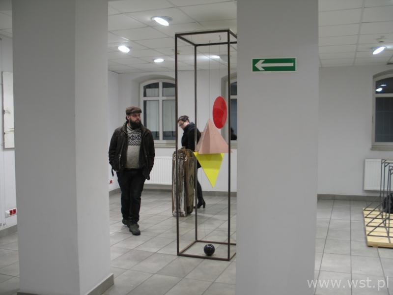 Zabrzański Wernisaż rzeźby Macieja Albrzykowskiego