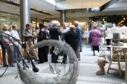 Wernisaż rzeźby- Atrium budynku Altus