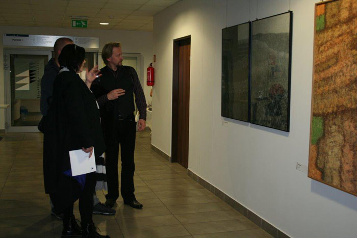 wernisaż pierwszej wystawy pedagogów WST
