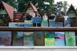 Plener Artystyczny 2013 Studentów I i II roku Grafiki oraz Koła Naukowego Malarstwa