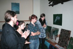 Plener plastyczny studentów pierwszego roku - kierunku Grafika