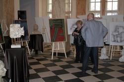 Wystawa prac studentów WST w budynku Śląskiego Urzędu Wojewódzkiego