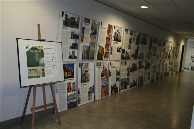 Wystawa - Słynne wille polski