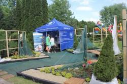 ogród zaprojektowany i wykonany przez studentów WST w Parku Śląskim