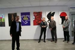 finisaż wystawy plakatu Piotra Grabowskiego