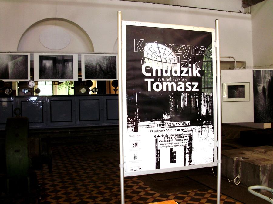 Wystawa rysunku i grafiki, rodzeństwa, artystów grafików Katarzyny i Tomasza Chudzik