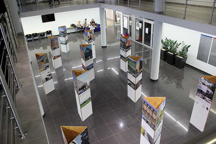 Architektura i Urbanistyka - Wystawa architektury na holu głównym - woj Śląskie, Katowice