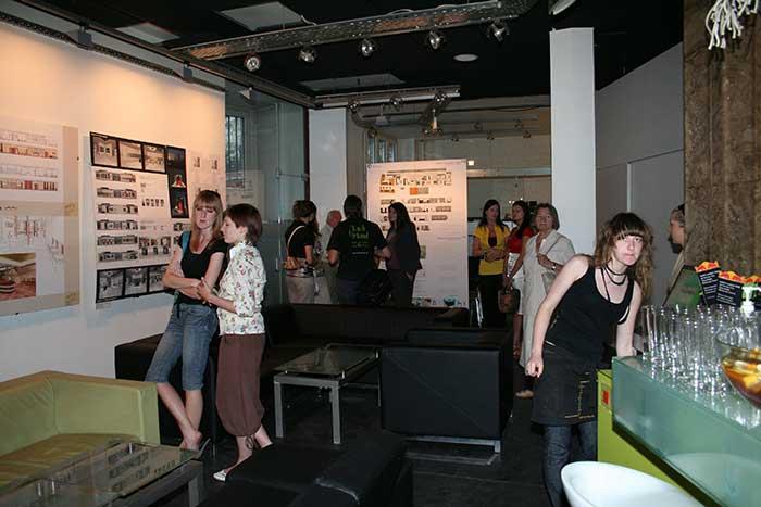 Architektura Wnętrz - Wernisaż wystawy Architektury Wnętrz w klubie Archibar - woj Śląskie, Katowice