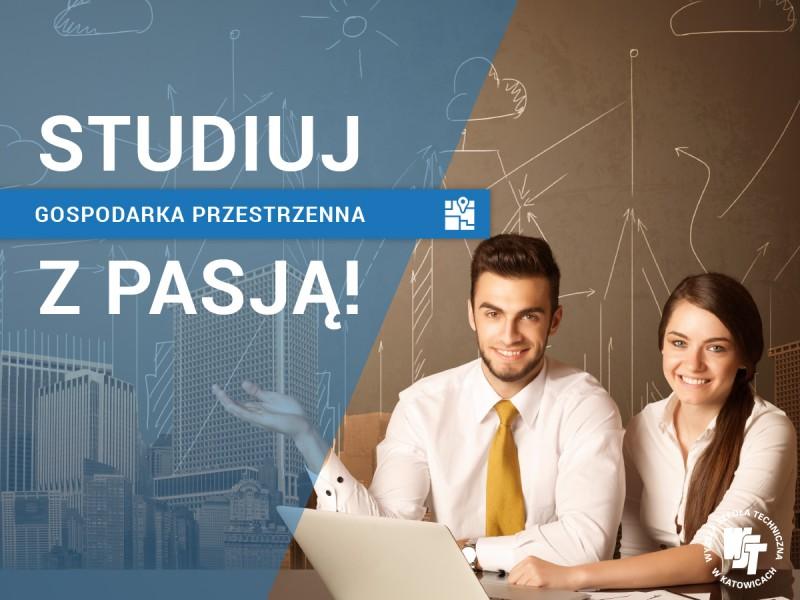 Studia Gospodarki Przestrzennej w woj. Śląskim,  Katowice