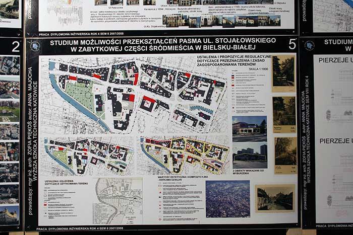 Gospodarka Przestrzenna - Praca studenta - woj Śląskie, Katowice