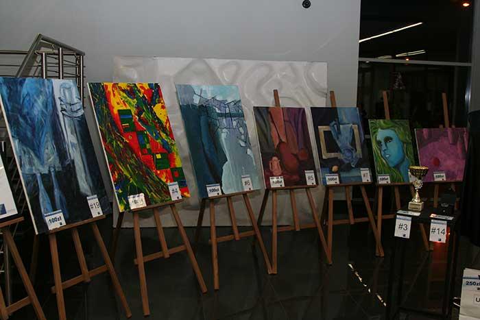 Grafika - Wystawa malarstwa + aukcja charytatywna - woj Śląskie, Katowice