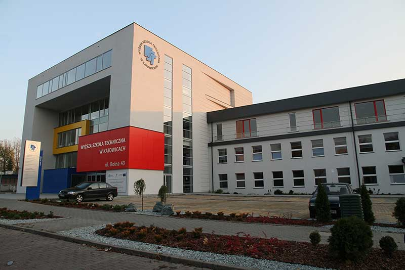 Siedziba główna Wyższej Szkoły Technicznej w Katowicach