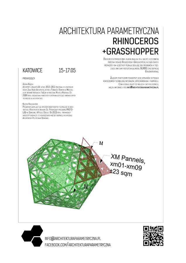 Warsztaty  Grasshopper+Rhinoceros+Druk3D