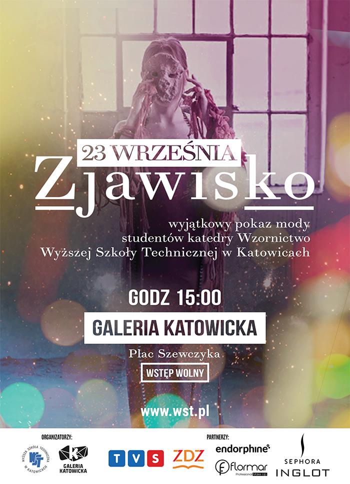 ZJAWISKO - Pokaz mody studentów katedry Wzornictwa