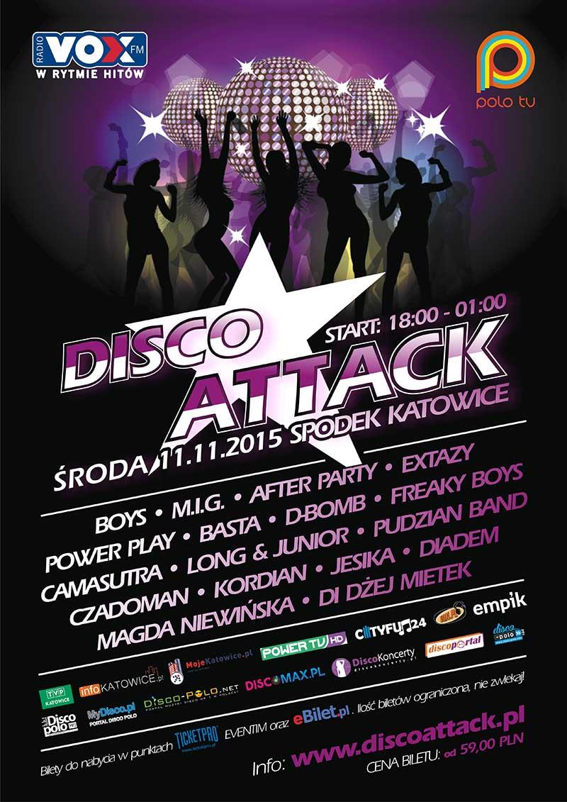 Disco Attack - festiwal muzyki Disco w katowickim Spodku