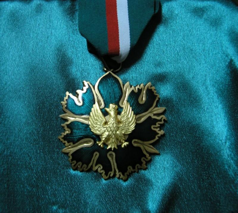 Złoty medal zasłużony kulturze Gloria Artis