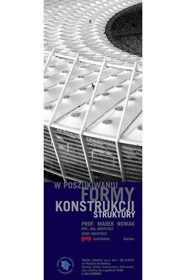 Wykład Profesora architekta Marka Nowaka z Uczelni Alanus Hochschule für Kunst und Gesellschaft w Bonn.