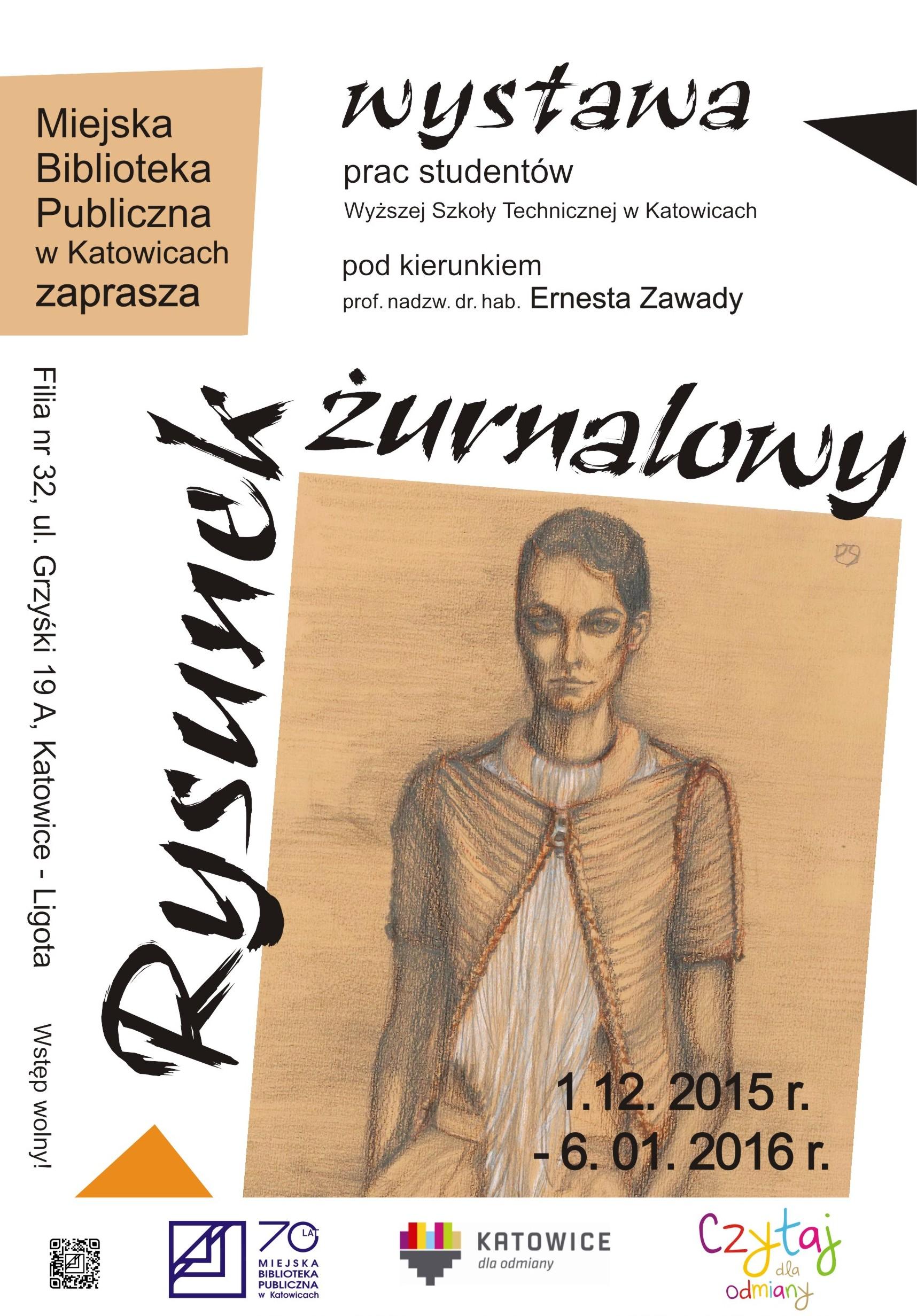 Rysunek Żurnalowy - Wystawa prac studentów WST w Katowicach