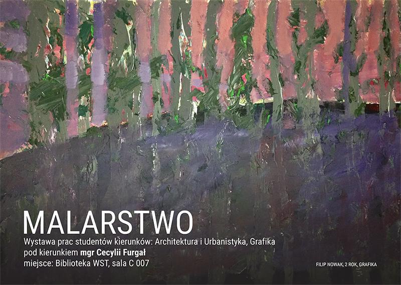 Malarstwo – wystawa prac studentów