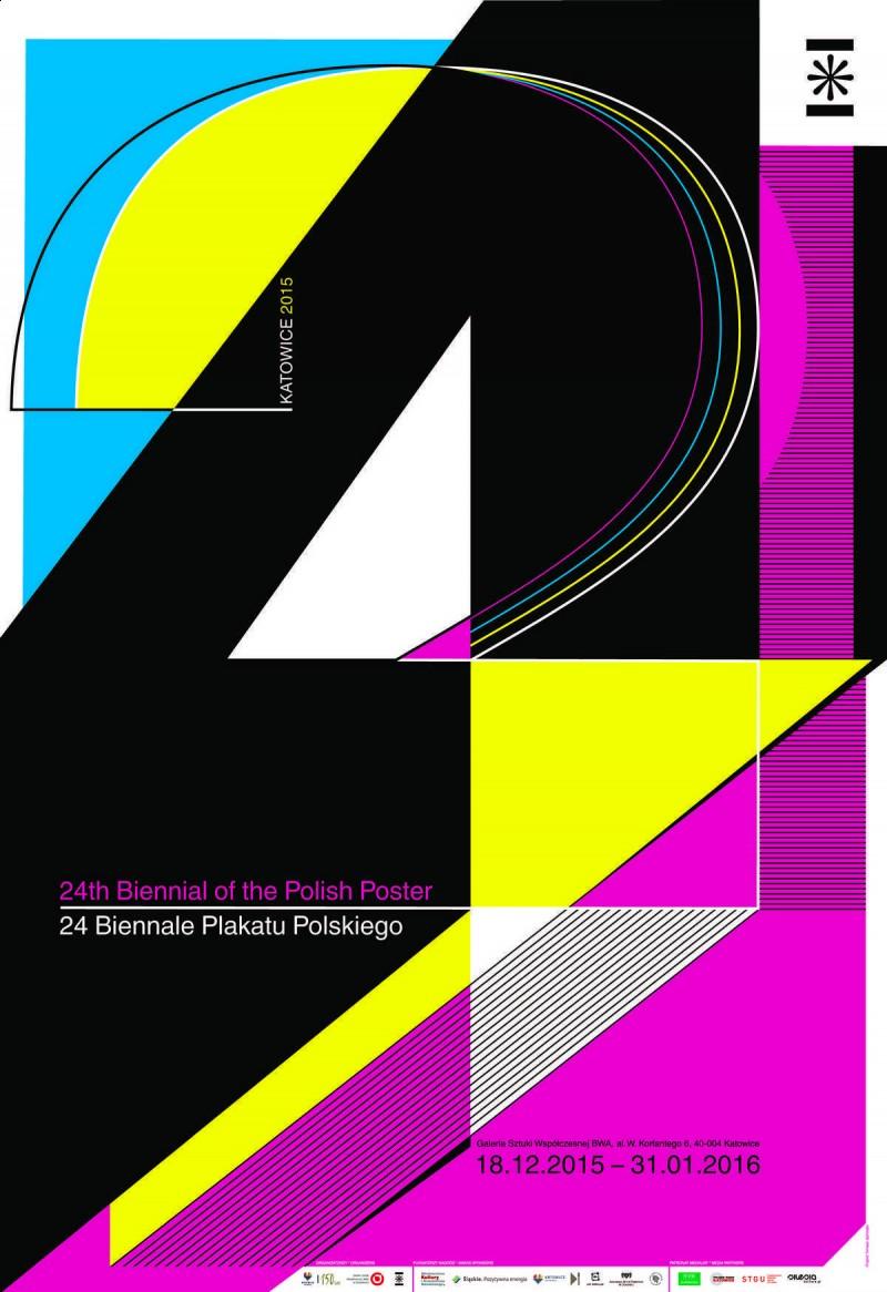24 Biennale Plakatu Polskiego Katowice 2015, BWA