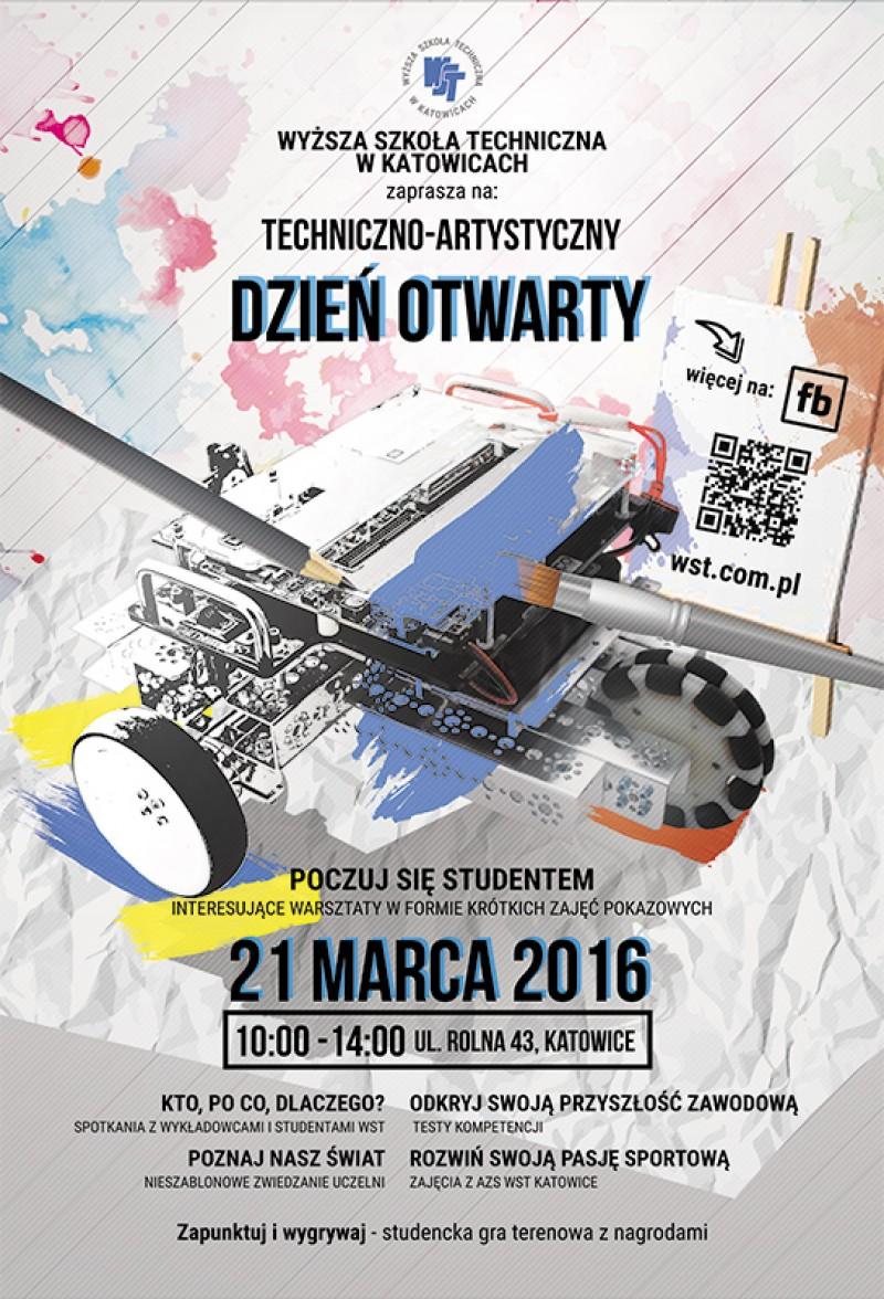 Techniczno – Artystyczny Dzień Otwarty Wyższej Szkoły Technicznej w Katowicach