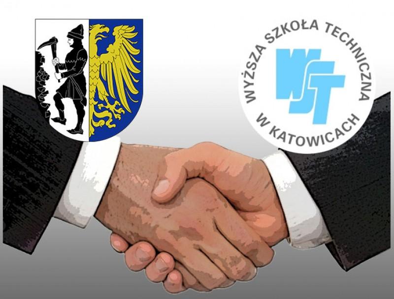 Umowa pomiędzy Miastem Bytom a Wyższą Szkołą Techniczną w Katowicach