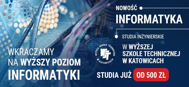 Nowy kierunek -  Informatyka w WST