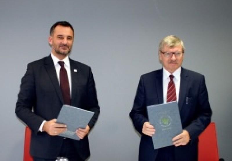 WYŻSZA SZKOŁA TECHNICZNA W KATOWICACH podpisała umowę z Miastem Bieruń