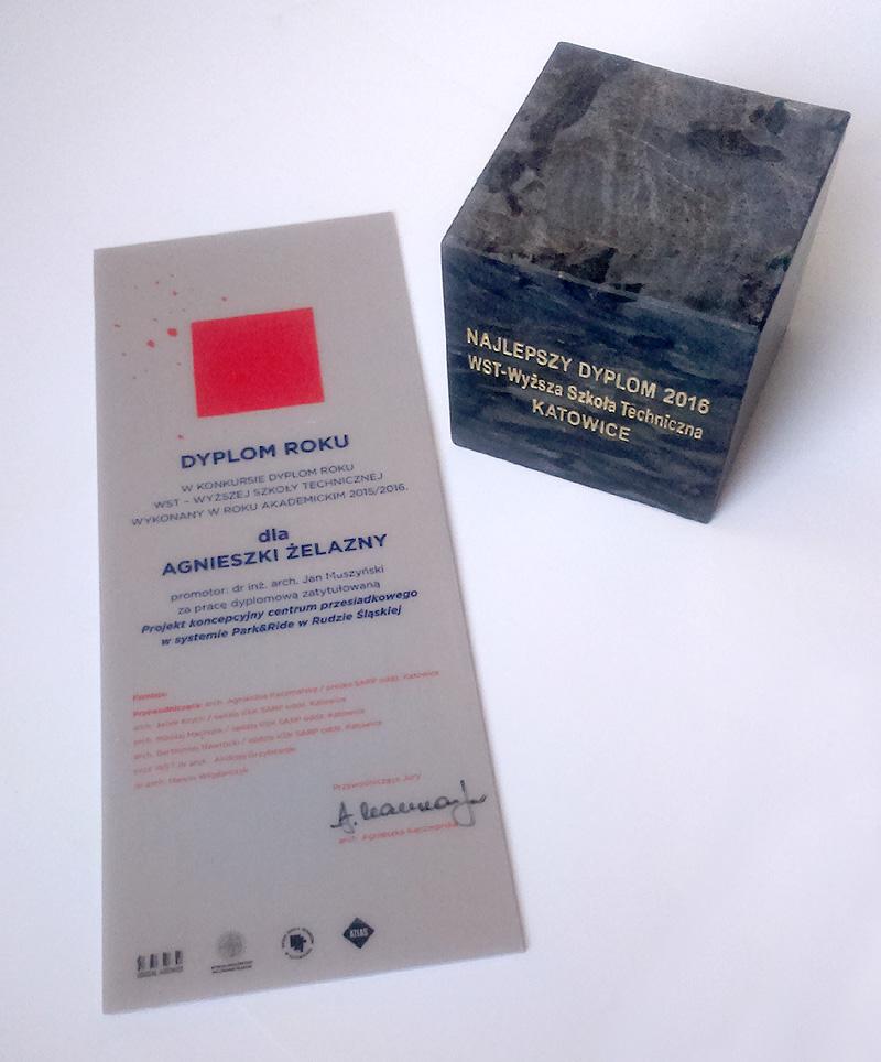 DYPLOM ROKU WST - projekt naszej absolwentki architektury Agnieszki Żelazny
