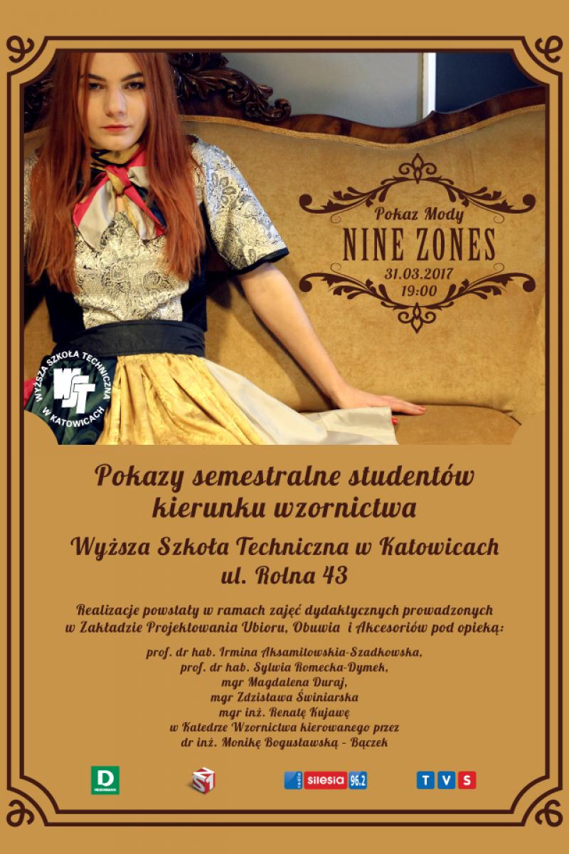 Pokaz Mody Nine Zones - Pokazy semestralne