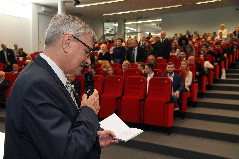 Podziękowanie za uczestnictwo w XIV  Inauguracji Roku Akademickiego