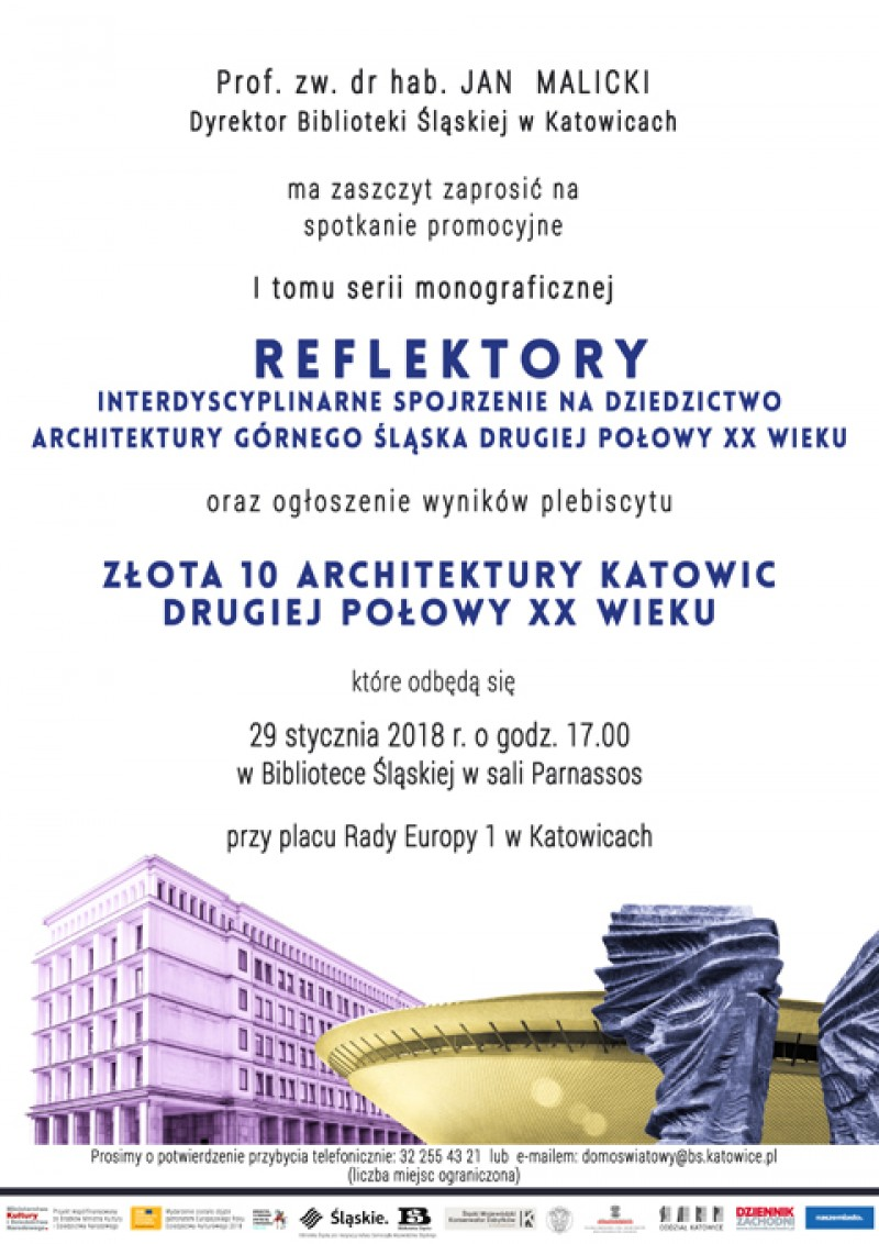 """Reflektory"" i ""Złota 10 architektury"""