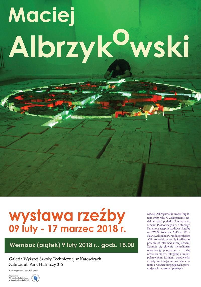 Wernisaż rzeźby Macieja Albrzykowskiego