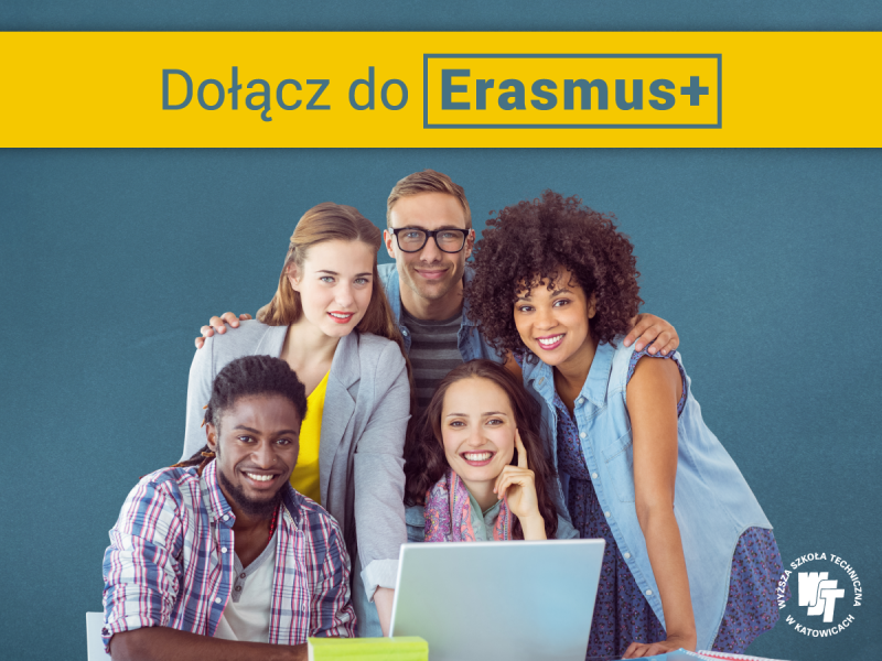 ERASMUS+  Rekrutacja ruszyła!