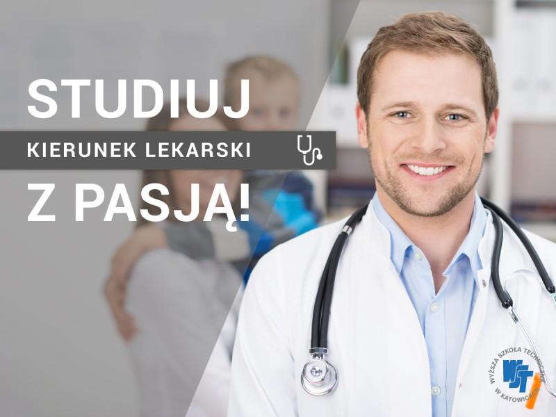 <strong><font color=red>Kierunek Lekarski</font></strong> na Wydziale Nauk Medycznych -  Nowość