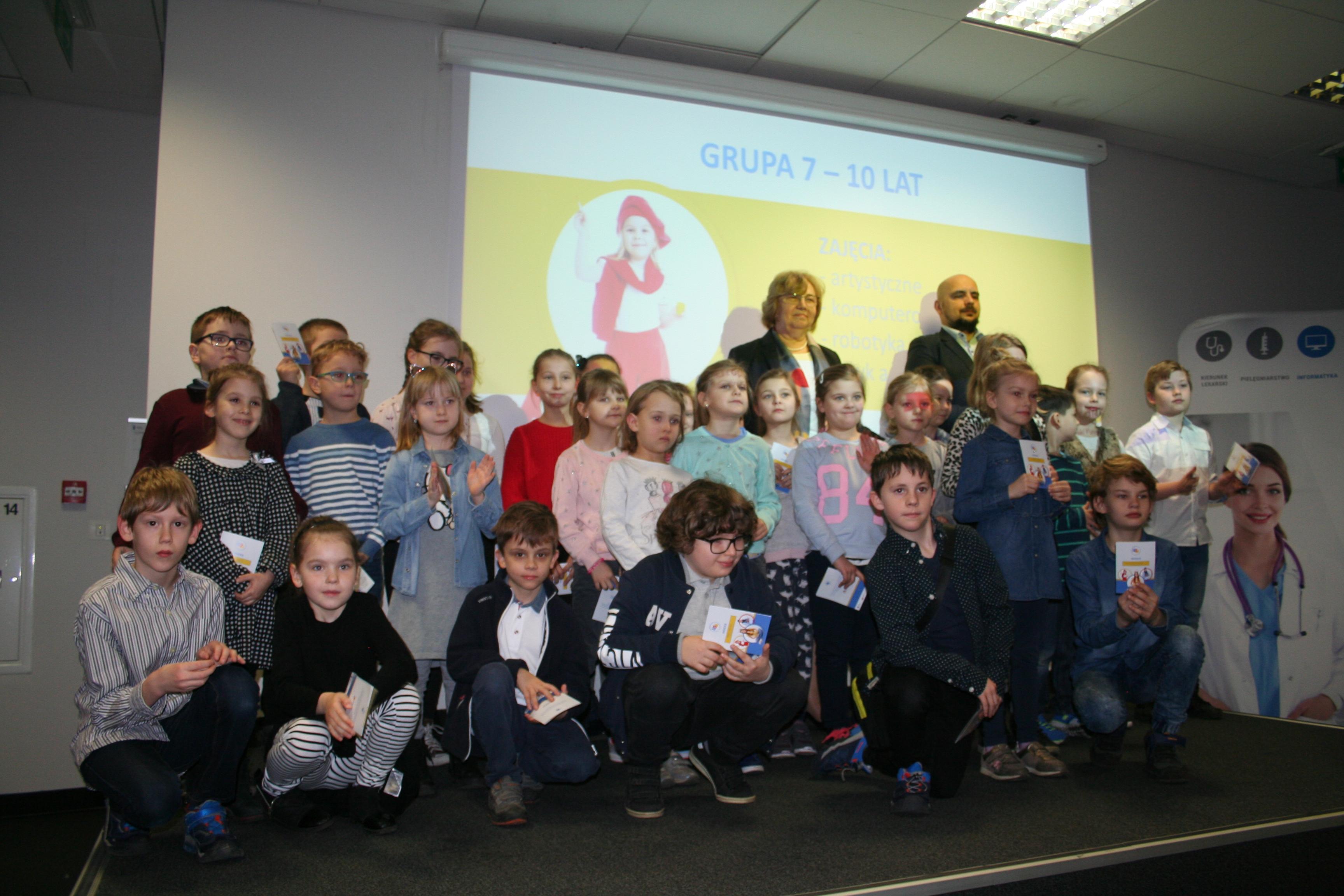 Inauguracja Uniwersytetu Dziecięco - Młodzieżowego WST z Zabrzu