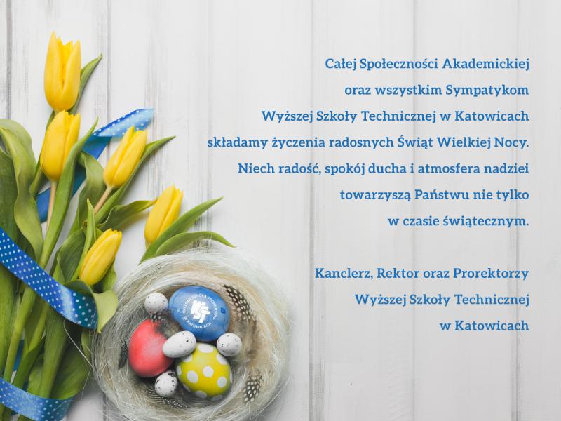 Wesołych Świąt Wielkanocnych !!!                                                                                                                                                              Godziny urzędowania Uczelni w okresie świątecznym.