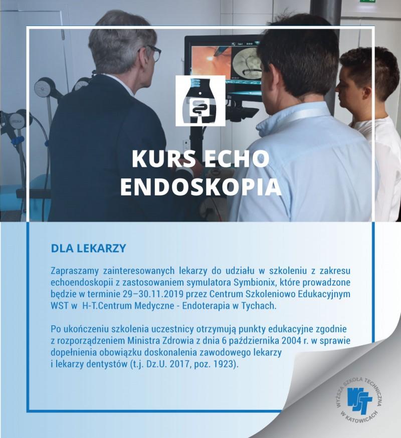 Kurs z zakresu echoendoskopii z zastosowaniem symulatora Symbionix