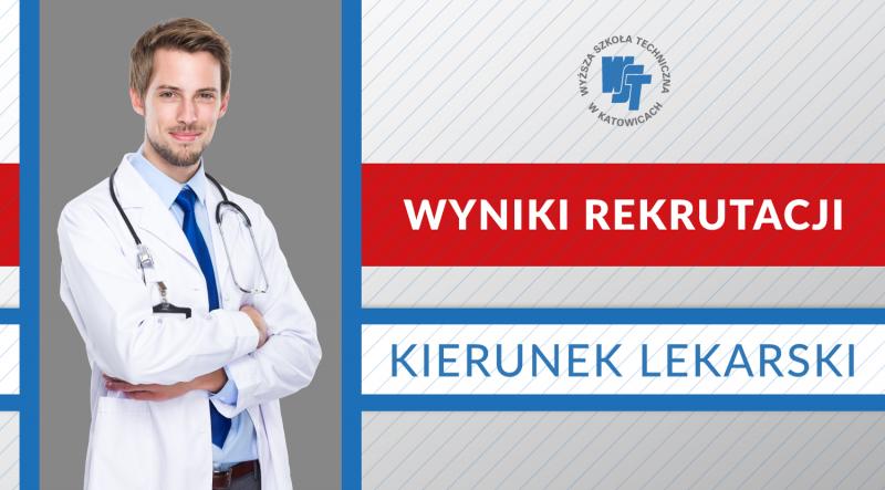 Wyniki rekrutacji na Kierunek Lekarski