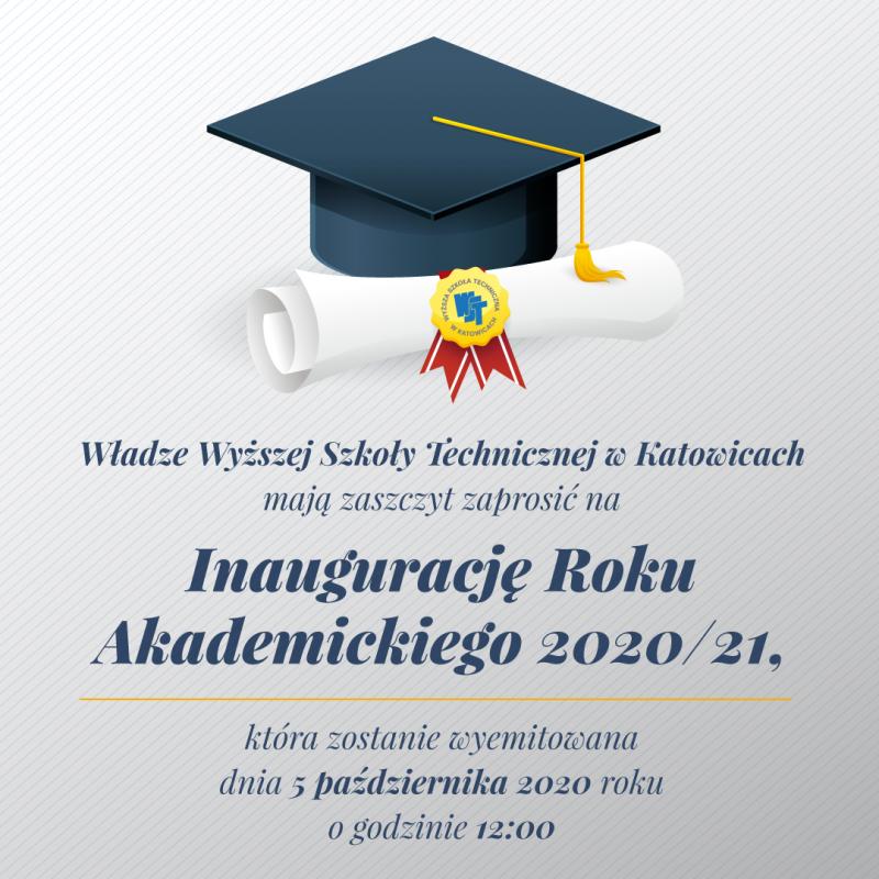 INAUGURACJA ROKU AKADEMICKIEGO 2020/2021